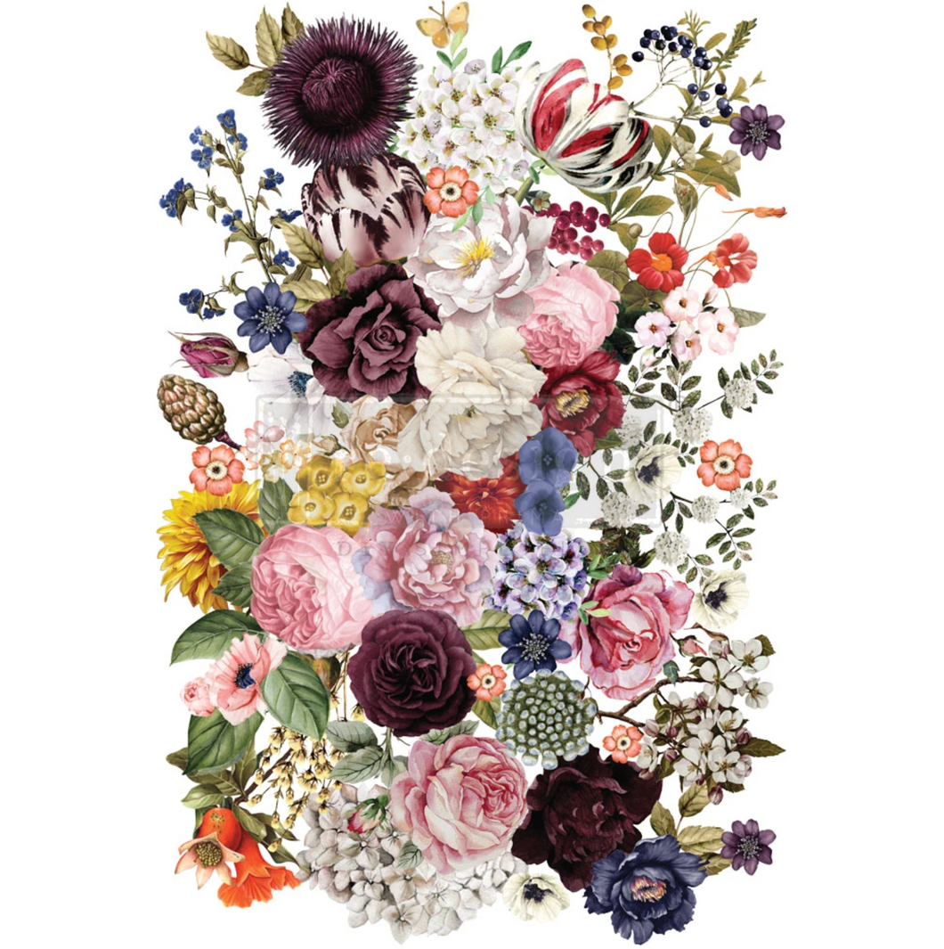 Redesign Decor Transfer - Wondrous Floral