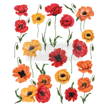 Load image into Gallery viewer, Redesign Decor Transfer - Poppy Gardens