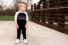 Load image into Gallery viewer, Chill Dude Kids Raglan Tee