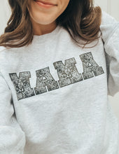 Load image into Gallery viewer, Ash MAMA Floral Sweatshirt