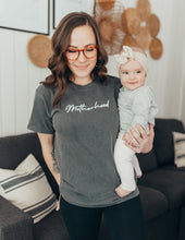 Load image into Gallery viewer, Motherhood Gray Pepper Tee