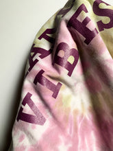 Load image into Gallery viewer, MAMA VIBES Rose Tie-Dye with Magenta Shimmer Ink