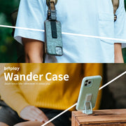Wander Case 立扣殼 for iPhone 12 系列 淺藍色