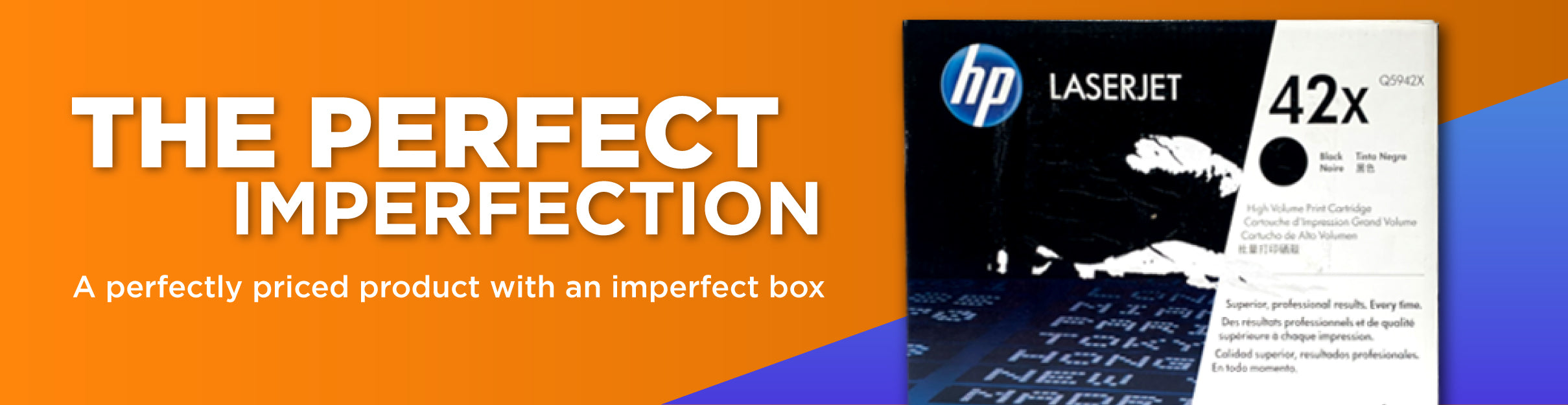 The Perfect Imperfection - Ink Genie® Box Conditions for discounts on ink and toner cartridges