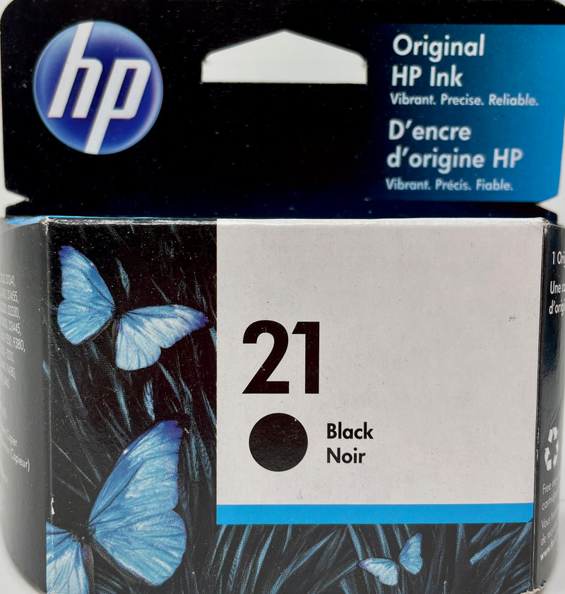 Genuine HP® 21 Black Ink Cartridge, Standard Yield (C9351AN