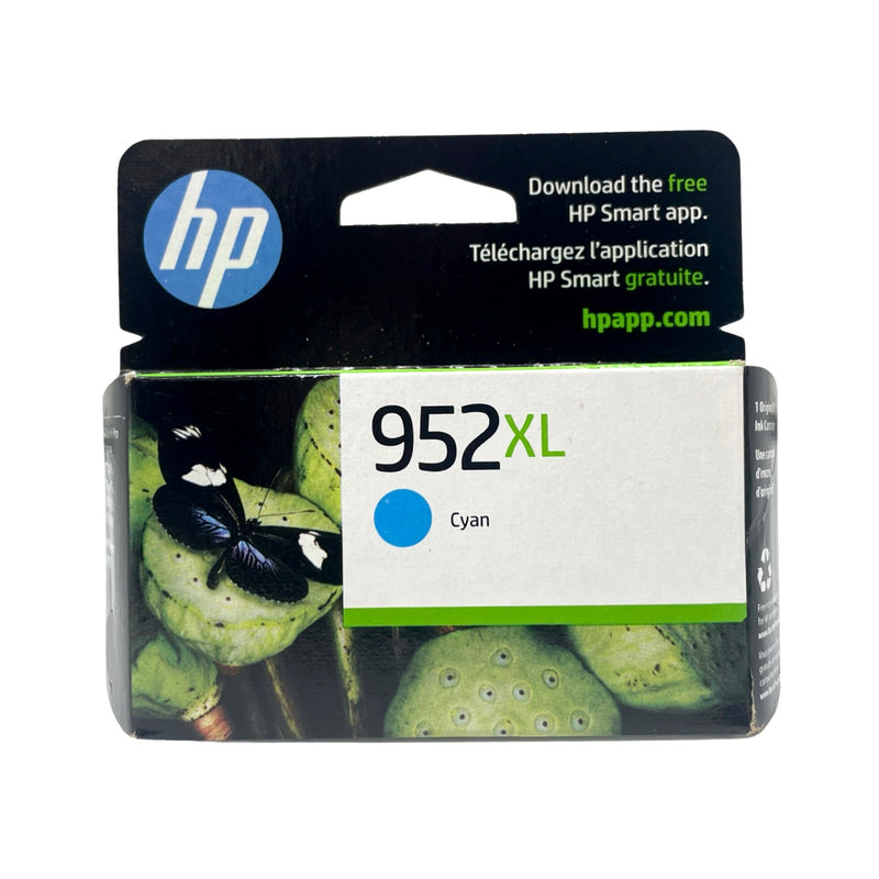 Genuine HP® 952XL Cyan Ink Cartridge, High Yield (L0S61AN