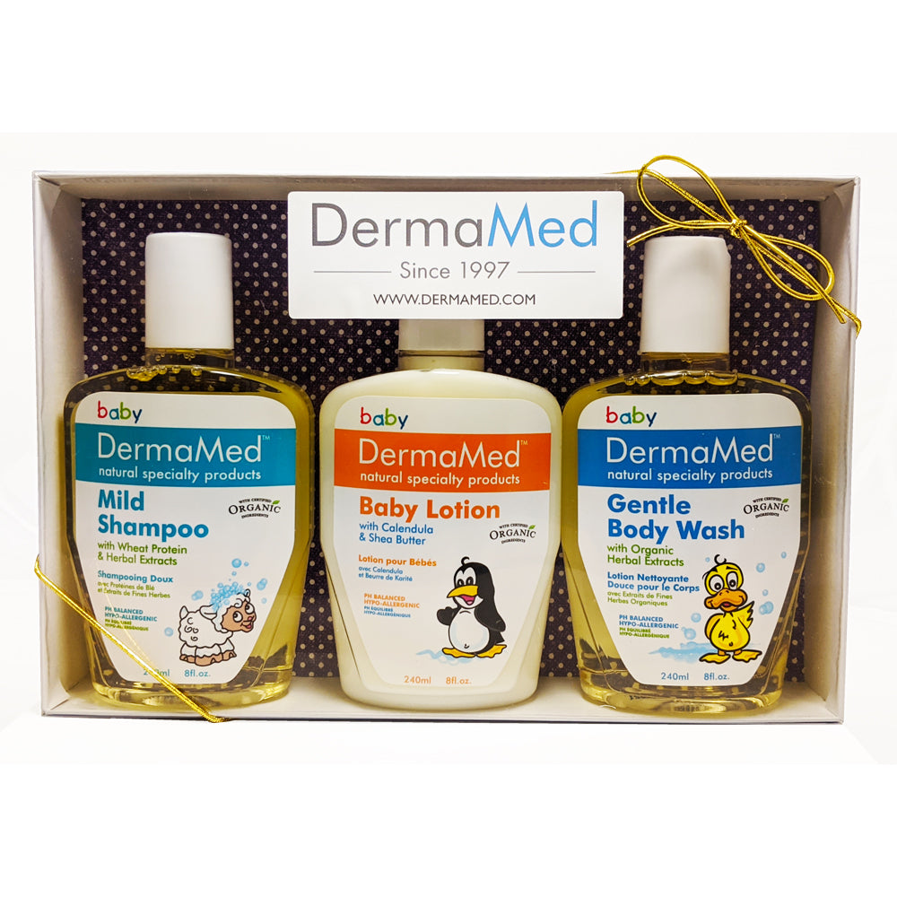 Gift Set - DermaMed Children Bath & Moisturizing Care
