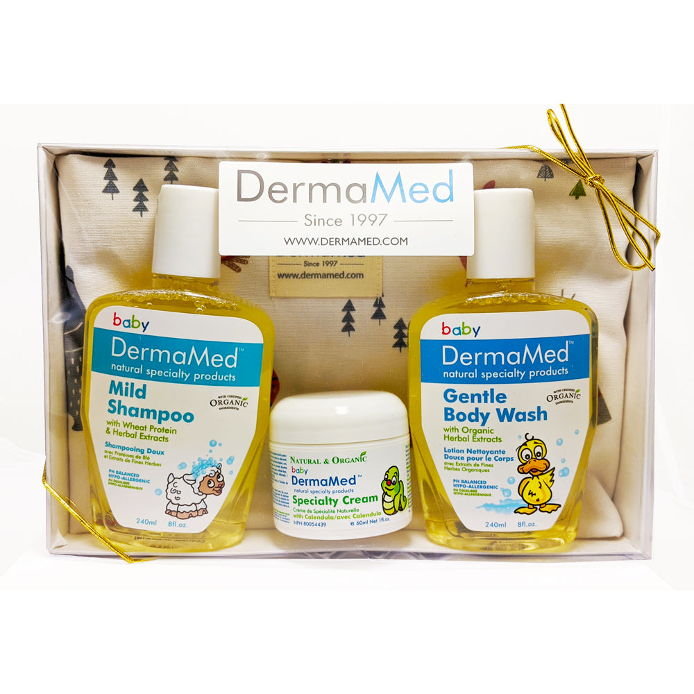 Gift Set - DermaMed Children Bath & Specialty Care