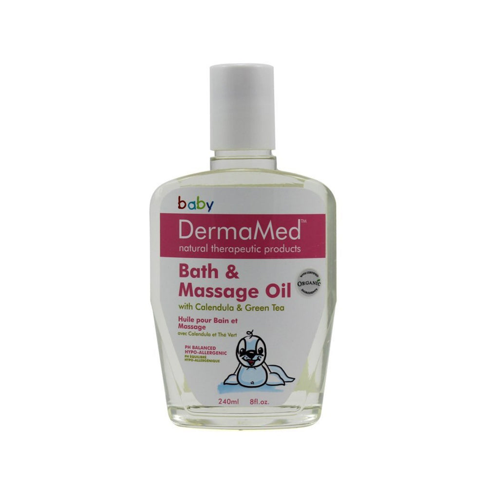 DermaMed Baby/Child Bath & Massage Oil [CLEARANCE]