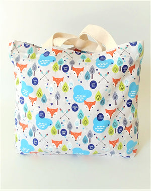 Healthy Principle Eco-Friendly Tote Bag - Cute Fox