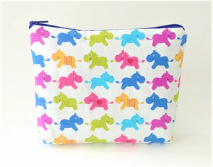 Healthy Principle Multi-Use Pouch with Waterproof Lining - Hippo
