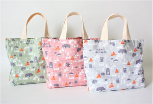 Healthy Principle Eco-Friendly Tote Bag - Animal Planet
