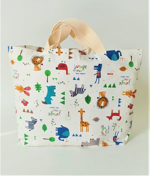 Healthy Principle Eco-Friendly Tote Bag - Jungle Friends