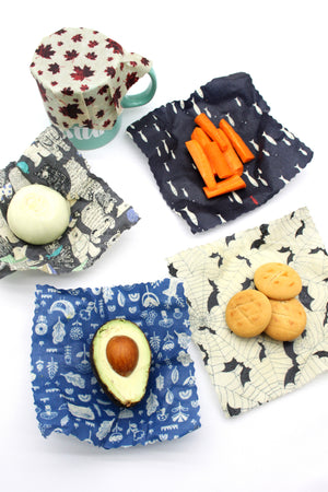 Mysgreen Beeswax Food Wrap Set - Cute Puppies