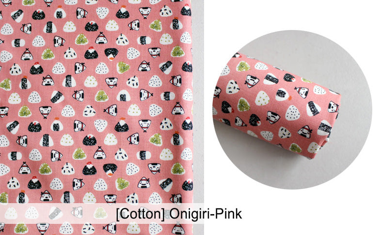 Mysgreen Beeswax Food Wrap Set - Onigiri-Pink