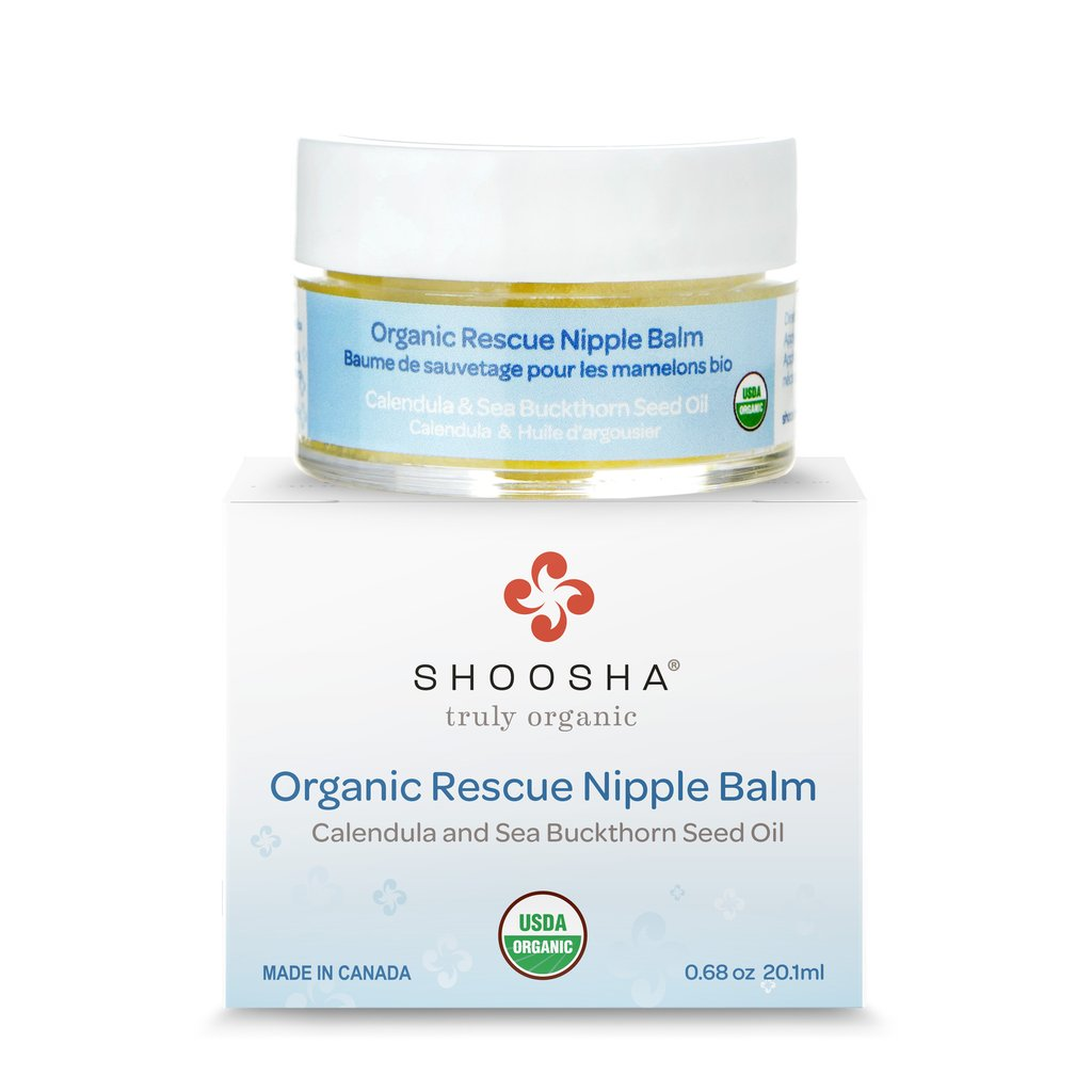 SHOOSHA® Organic Rescue Nipple Balm