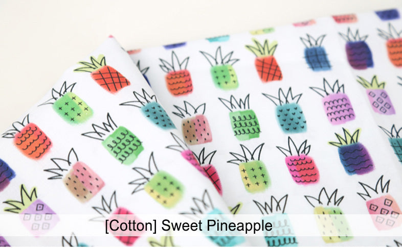 Mysgreen Beeswax Food Wrap Set - Sweet Pineapple