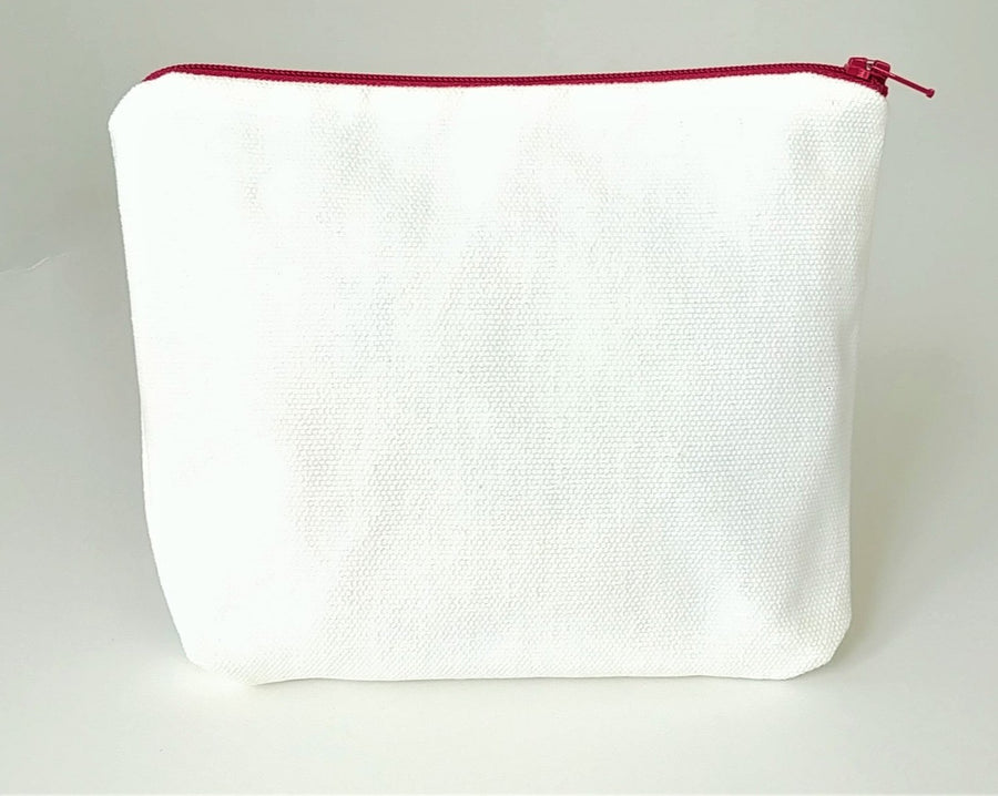 Healthy Principle Multi-Use Pouch with Waterproof Lining - Canvas/White