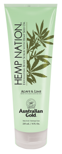 HEMP NATION AGAVE & LIME EXFOLIATING SCRUB