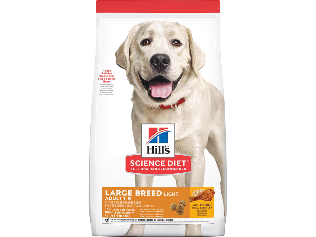 Hills Science Diet Dog Adult Large Breed Light Chicken Meal & Barley