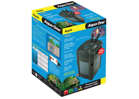 Aqua One 1000 External Canister Filter
