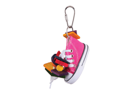 Kazoo Bird Toy With Sneaker and Chips