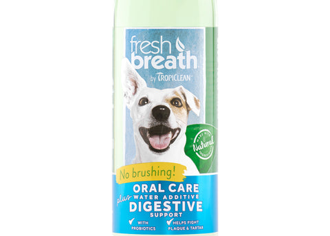 Tropiclean Fresh Breath Water Additive Plus Digestive Support