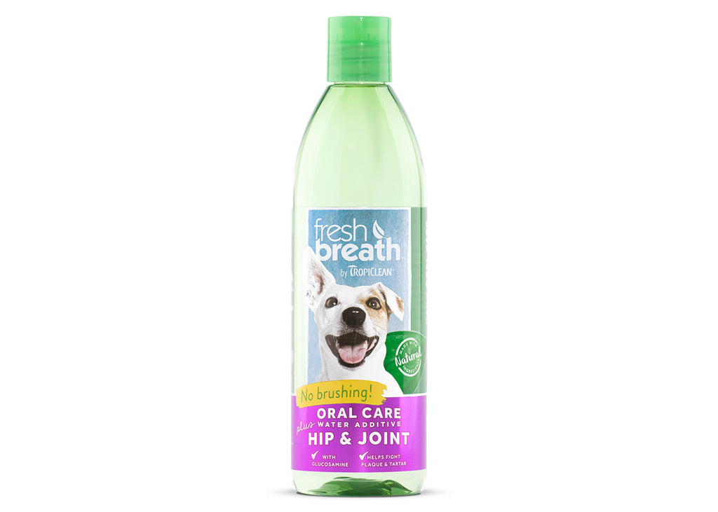 Tropiclean Fresh Breath Water Additive Plus Hip & Joint