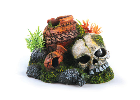 Kazoo Skull With Plants & Air