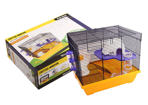 Pet One Critter Mansion Mouse Wire Cage
