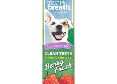 Tropiclean Fresh Breath Berry Fresh Teeth Gel