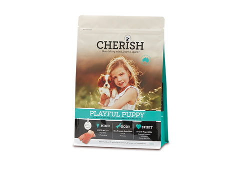 Cherish Playful Puppy