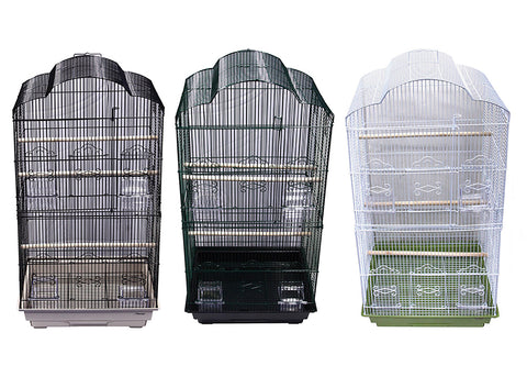 Avi One Cage 450AL Round Top Tall 46.5cm x 36cm x 90.5cm