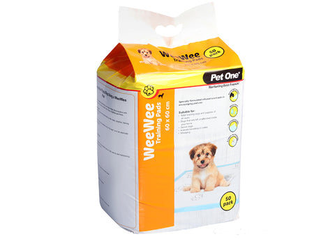 Pet One Puppy Wee Wee Training Pad 60x60cm