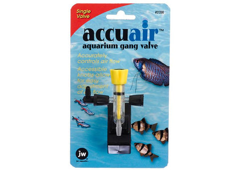 JW Accuair Gang Valve Single