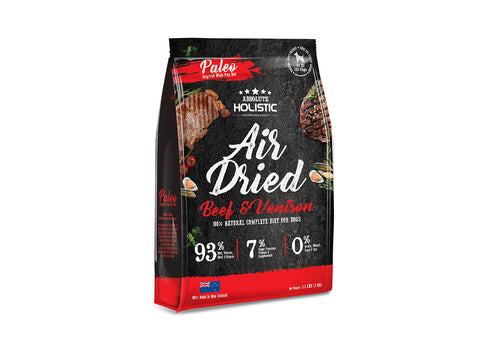 Absolute Holistic Beef & Venison Air Dried Dog Food