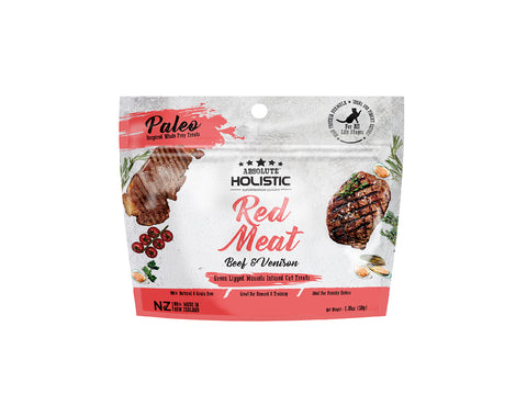 Absolute Holistic Air Dried Red Meat Beef and Venison Cat Treat
