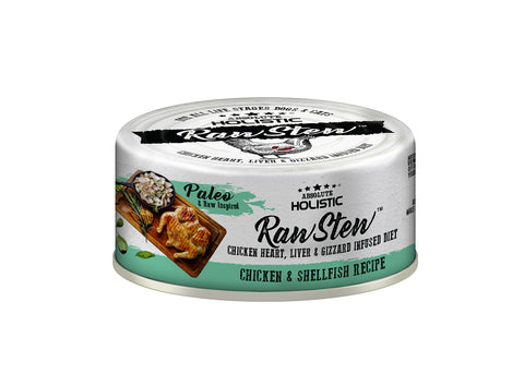Absolute Holistic RawStew Cat Chicken & King Salmon Wet Food