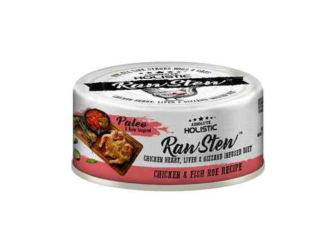 Absolute Holistic RawStew Cat Chicken & Fish Roe Wet Food