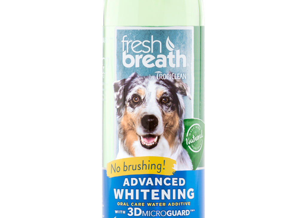 Tropiclean Fresh Breath Advance Whitening Water Additive