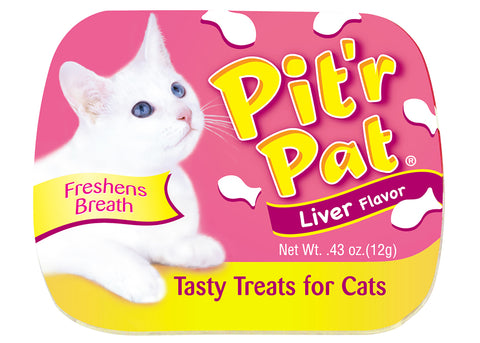 Pitr Pat Cat Breath Liver Treat