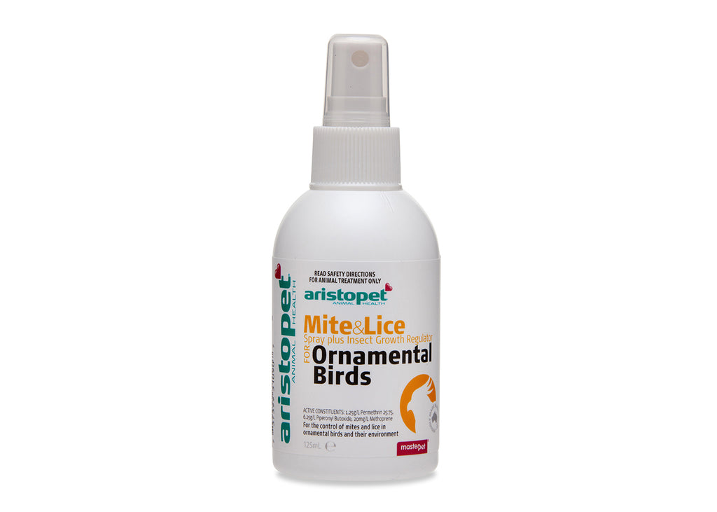 Aristopet Mite & Lice Spray For Birds