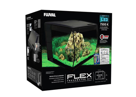 Fluval Flex Aquarium (57 Litres) - Black