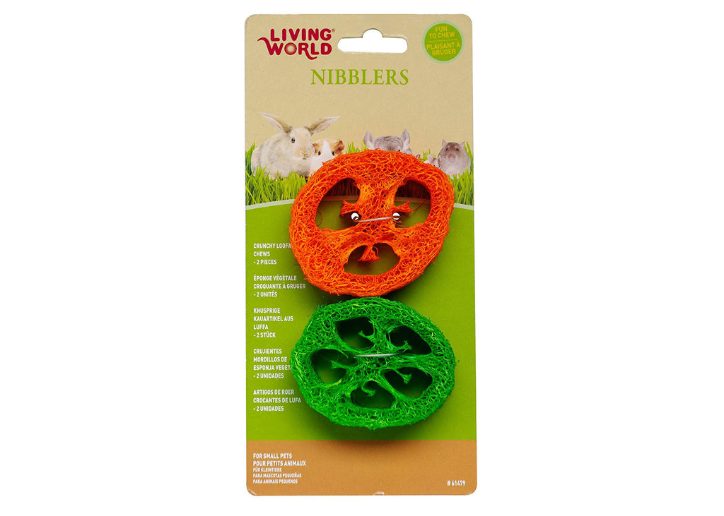 Living World Small Animal Crunchy Capsicum Loofah