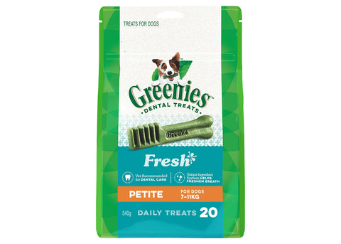 Greenies Dog Petite Fresh Mint