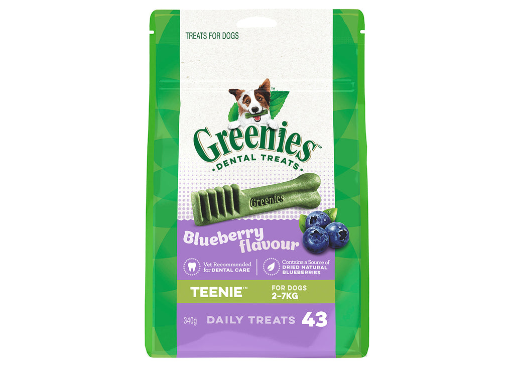 Greenies Dog Teenies Blueberry Treat Pack