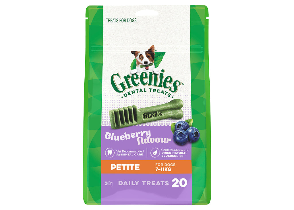 Greenies Dog Petite Blueberry Treat Pack