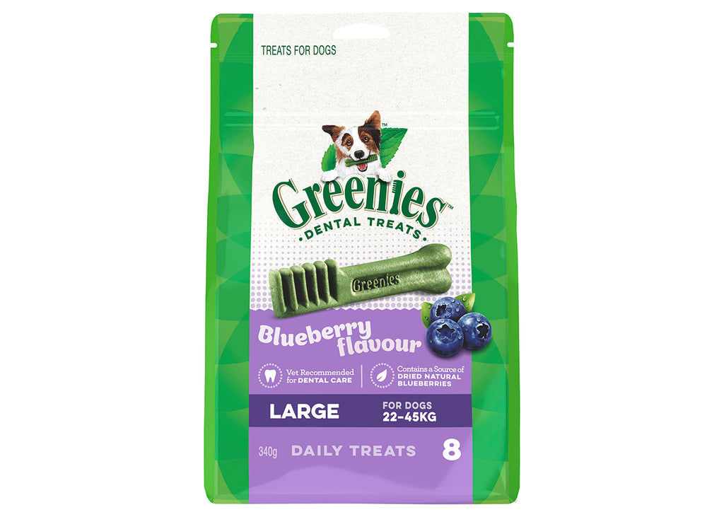 Greenies Dog Large Blueberry Treat Pack