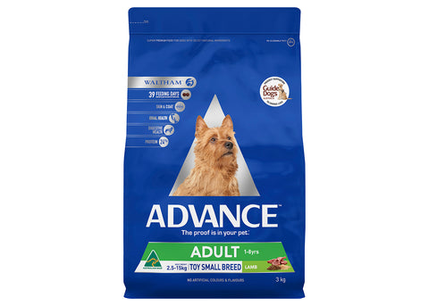 Advance Dog Adult Toy & Small Breed Lamb & Rice