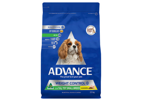 Advance Dog Adult Toy & Small Breed Weight Control Chicken